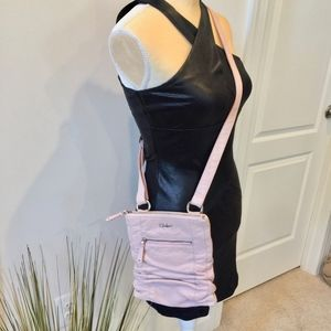 Rare Pink Cole Haan Leather Crossbody Bag